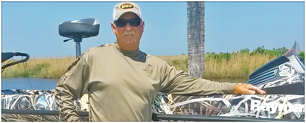 Tom Mann Jr Guide Services on Lake Okeechobee